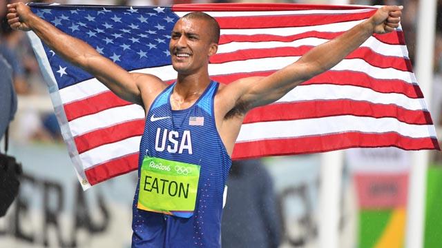 USA's Ashton Eaton