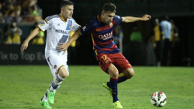 Barcelona forward Munil El Haddadi