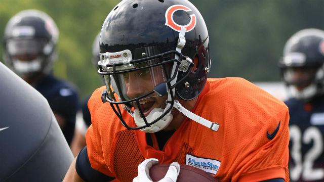 Chicago Bears quarterback Brian Hoyer
