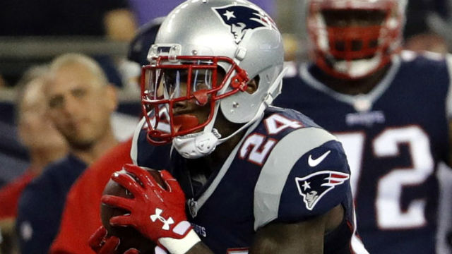 New England Patriots cornerback Cyrus Jones