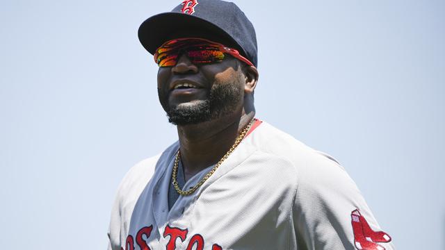 Boston Red Sox designated hitter David Ortiz