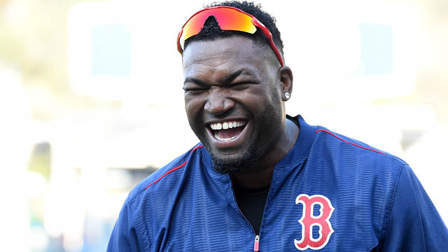 Red Sox first baseman David Ortiz