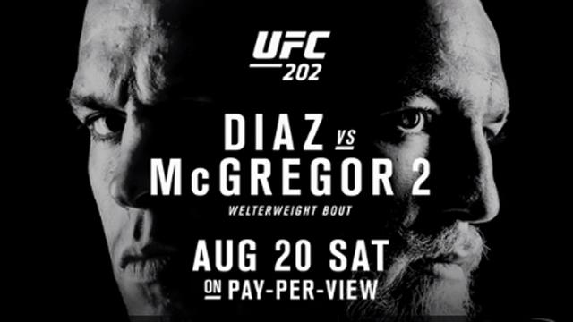 UFC fighters Nate Diaz, Conor McGregor