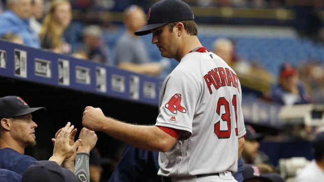 Red Sox pitcher Drew Pomeranz