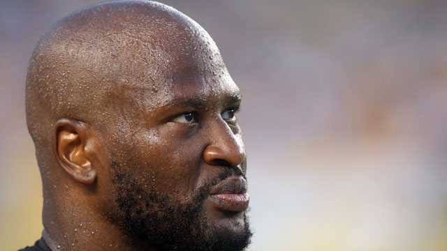 Steelers linebacker James Harrison