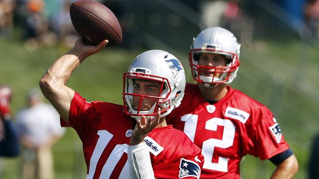 Patriots quarterback Jimmy Garoppolo