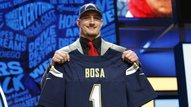 San Diego Chargers defensive end Joey Bosa