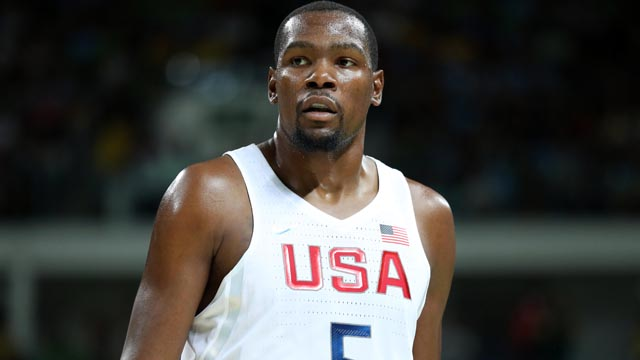 United States forward Kevin Durant