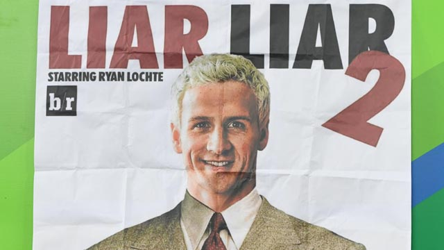 A poster of Ryan Lochte