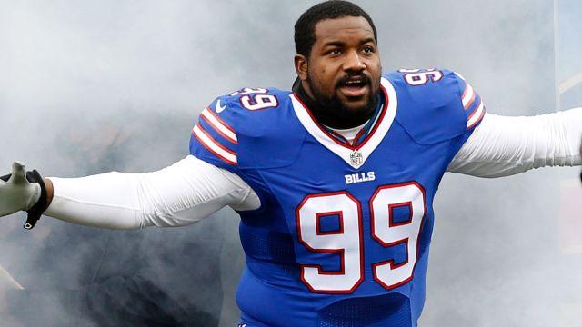 Buffalo Bills defensive tackle Marcell Dareus