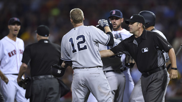 Rich Porcello and Chase Headley