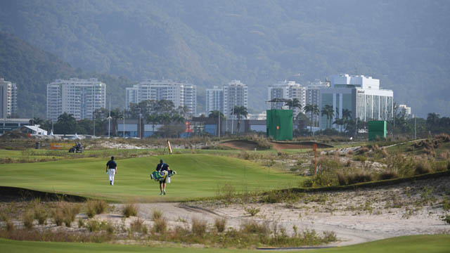 Rio 2016 Summer Olympic Games at Olympic Gold Course