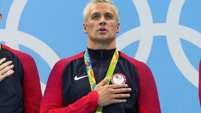 Team USA swimmer Ryan Lochte