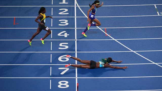 Bahamas runner Shaunae Miller