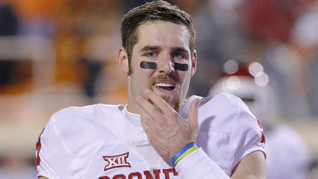 Oklahoma Sooners quarterback Trevor Knight