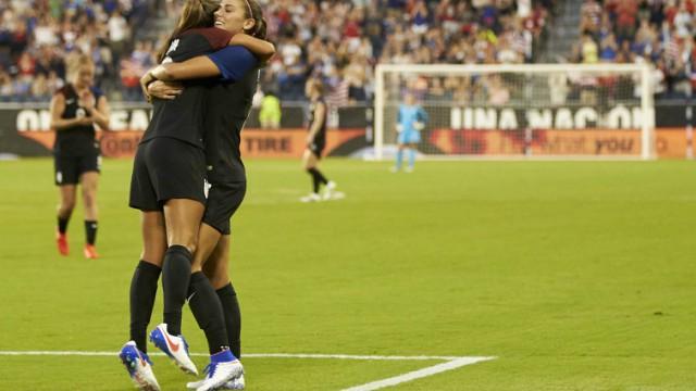 USA Olympic women's soccer team