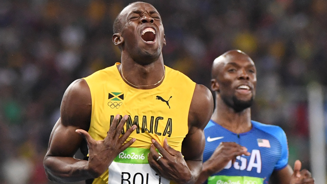 Jamaica sprinter Usain Bolt