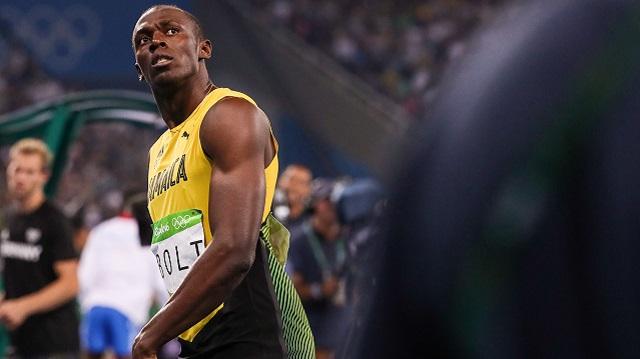 Jamaica sprinter Usain Bolt