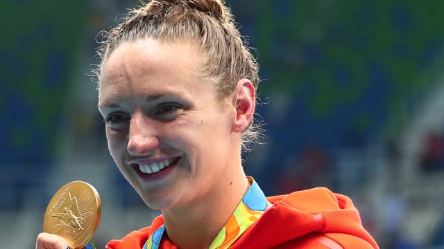Hungarian swimmer Katinka Hosszu