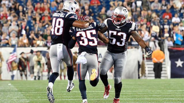Patriots Saints