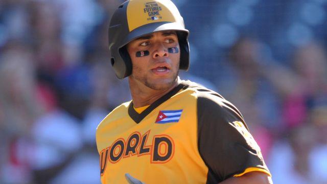 Red Sox infield prospect Yoan Moncada