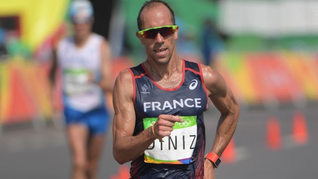 French race walker Yohann Diniz
