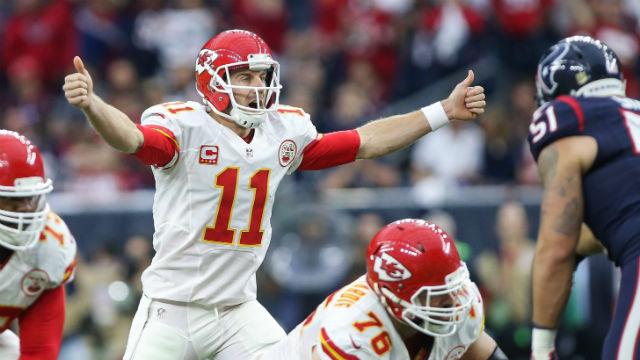 Kansas City Chiefs quarterback Alex Smith
