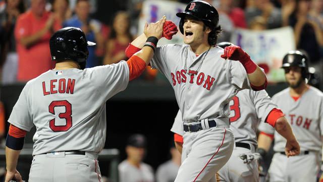 Red Sox outfielder Andrew Benintendi