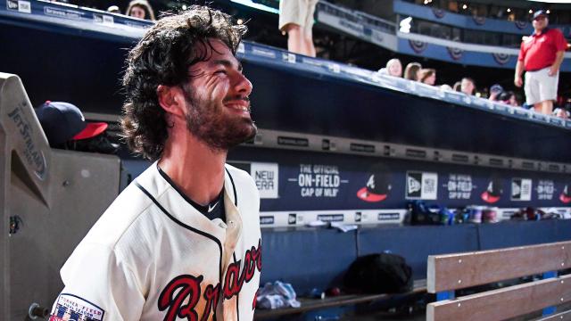 Atlanta Braves shortstop Dansby Swanson