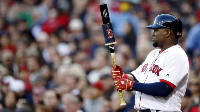 Boston Red Sox DH David Ortiz