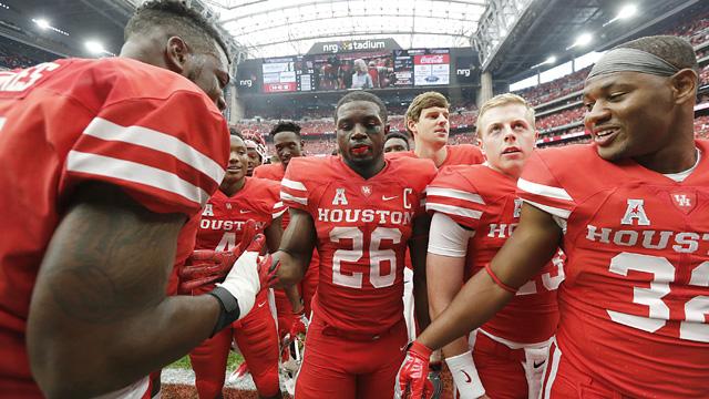 Houston Cougars cornerback Brandon Wilson