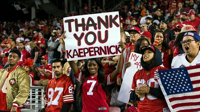 Colin Kaepernick sign