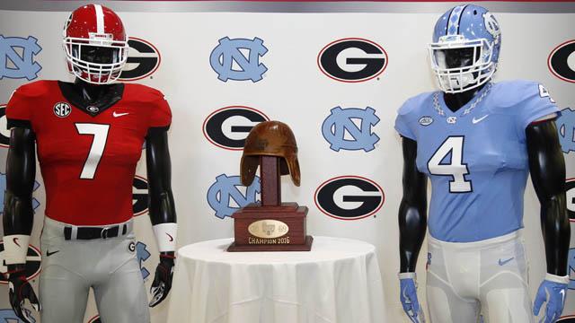 North Carolina, Georgia football