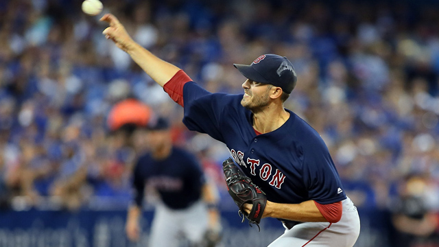 Red Sox pitcher Rick Porcello