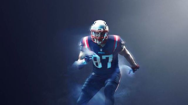 Patriots Color Rush Jerseys: Pats Going All-Blue For Tilt With ...