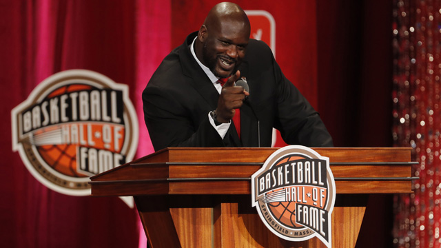 Former NBA player Shaquille O'Neal