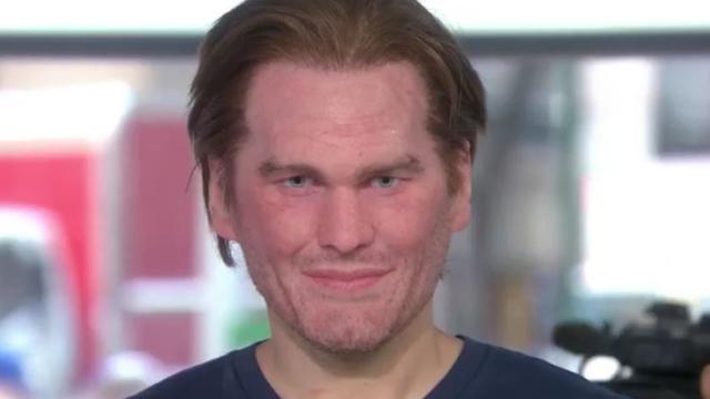 Tom Brady mask