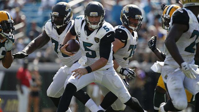 acksonville Jaguars quarterback Blake Bortles