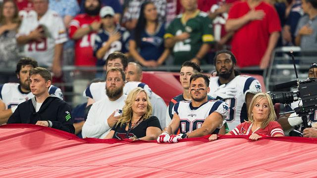 New England Patriots Wide Receiver Danny Amendola