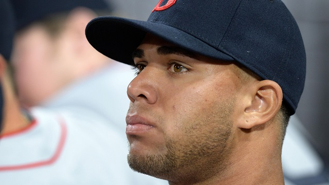 Boston Red Sox third baseman Yoan Moncada