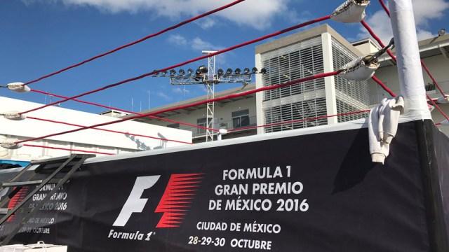 Formula 1 Mexican GP - wrestling ring