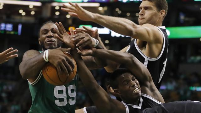 Celtics forward Jae Crowder