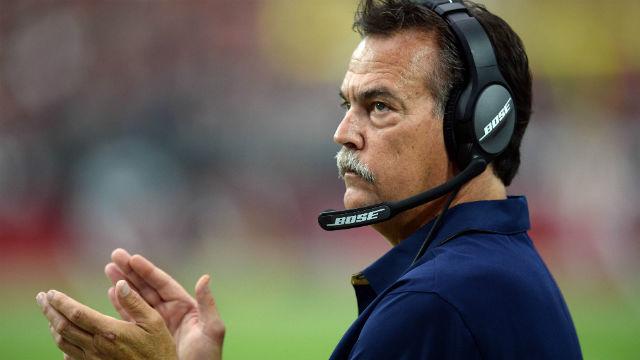 Los Angeles Rams head coach Jeff Fisher