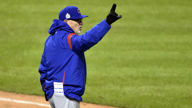 Chicago Cubs manager Joe Maddon