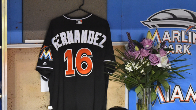 Miami Marlins pitcher Jose Fernandez