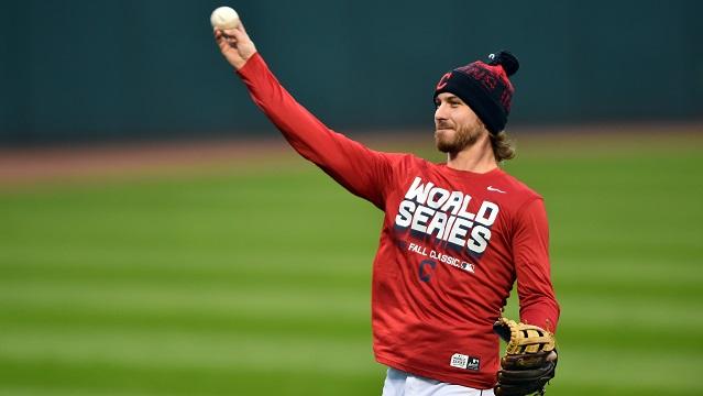 Cleveland Indians starting pitcher Josh Tomlin