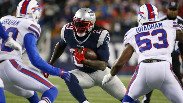 New England Patriots running back LeGarrette Blount