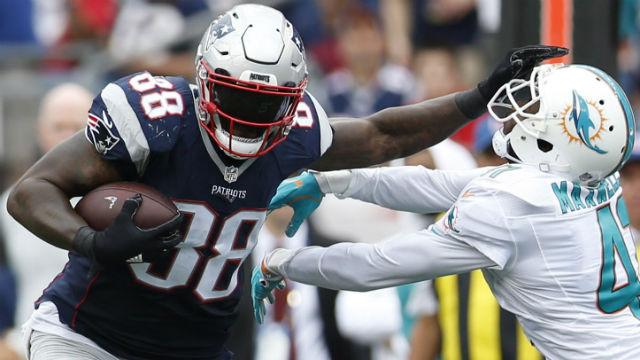 New England Patriots tight end Martellus Bennett