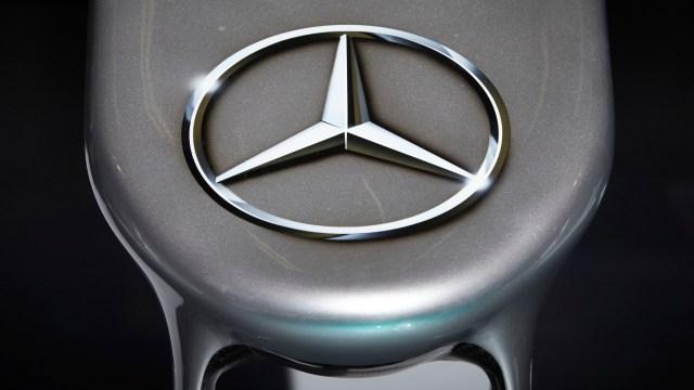 Mercedes-AMG Petronas W07 nose