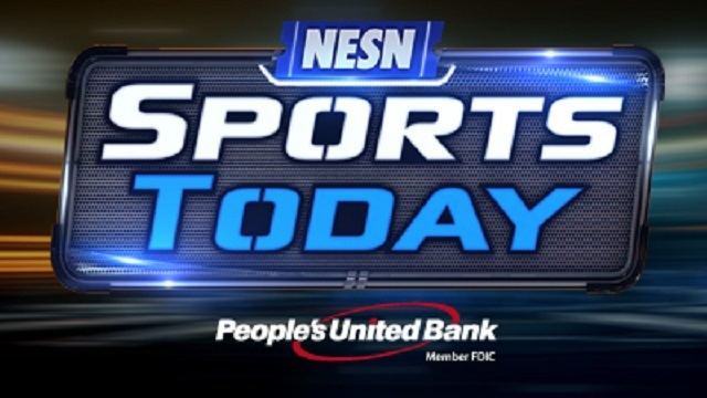 NESN Sports Today with People's United Bank logo